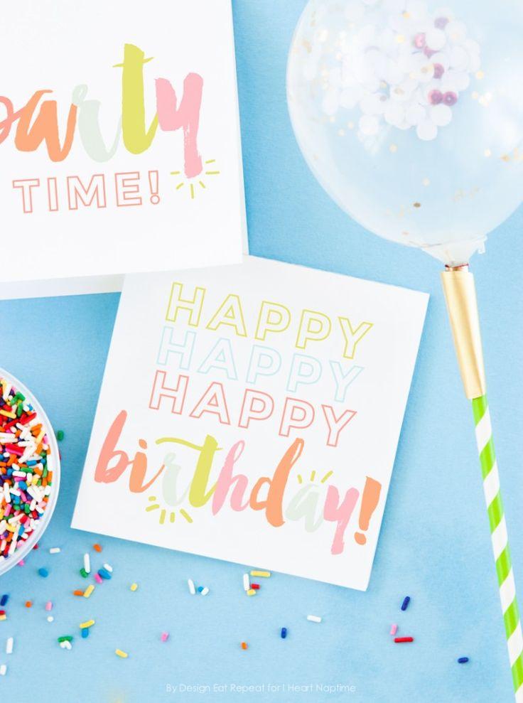 Best 25 Free printable birthday cards ideas – Birthday Card Printable Free