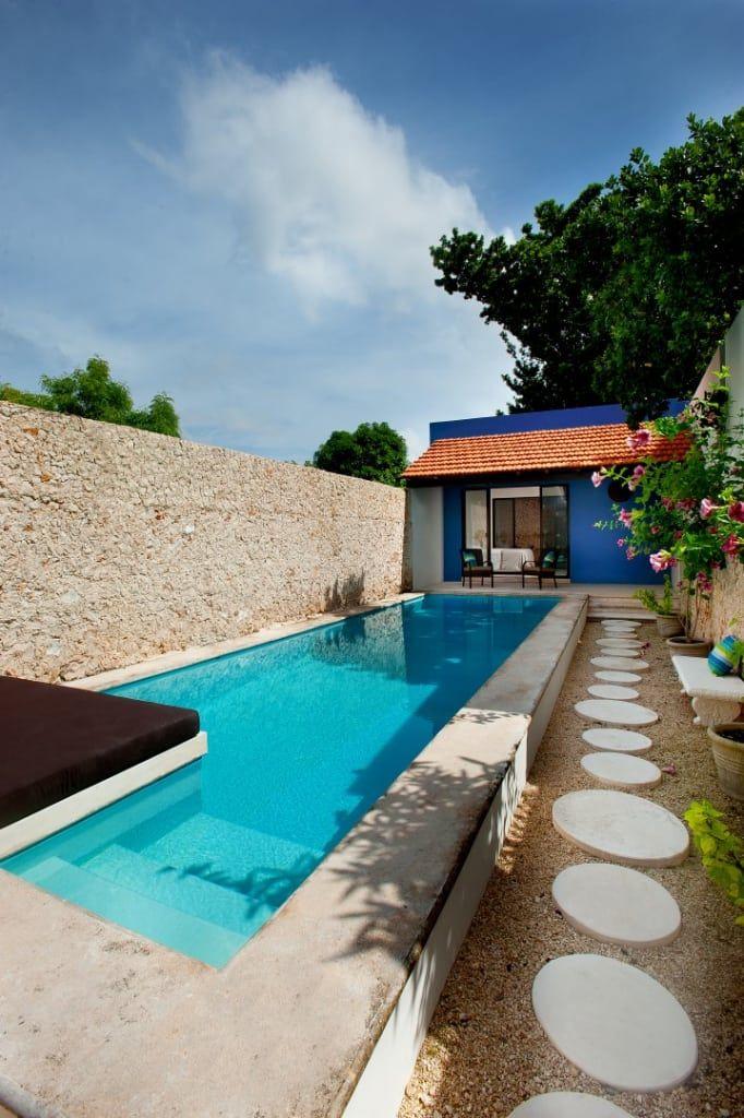 Mediterranean pool photos by taller estilo arquitectura i homify