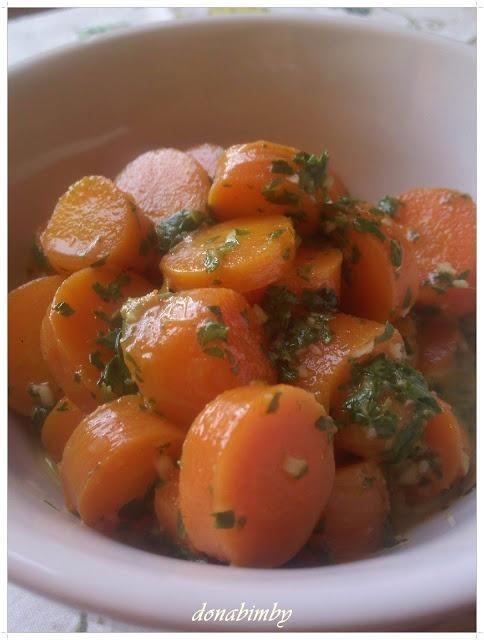 Cenouras algarvias bimby