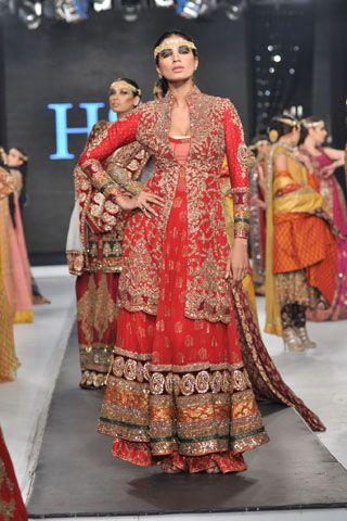 HSY (Hassan Sheheryar Yasin) Bridal Collection at Pakistan Bridal Couture Week, 2013
