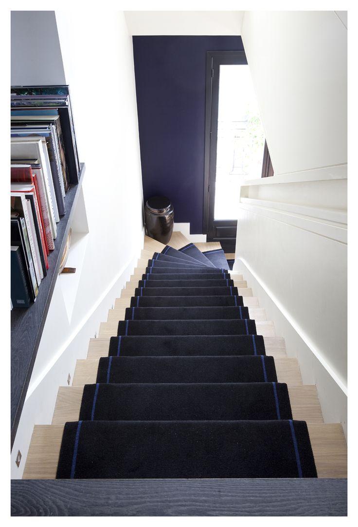 Les 25 meilleures id es concernant halls d 39 entr e sur pinterest d cor pour le hall d 39 entr e for Peindre son escalier