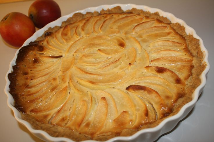 Æbletærte med karamelbund (7)