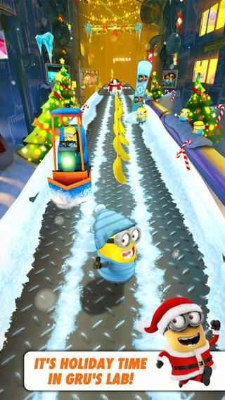 Minion Rush, great running app