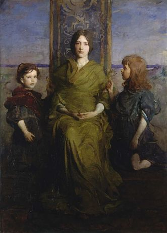 Virgin Enthroned by Abbott Handerson Thayer / American Art