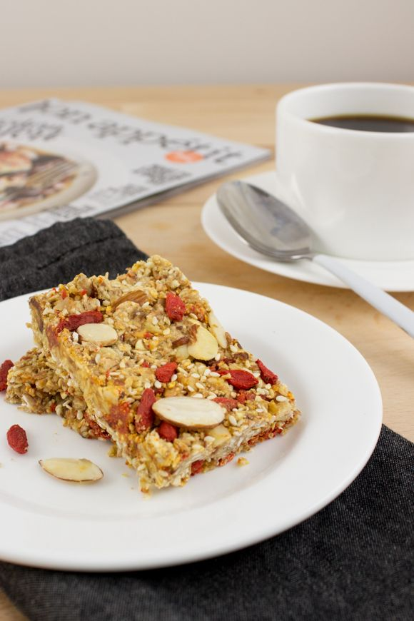 Your Go-To Goji Berry Energy Bars