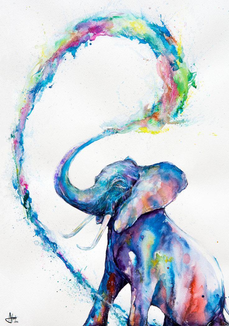 Artwork Ideas best 10+ elephant art ideas on pinterest | colorful elephant