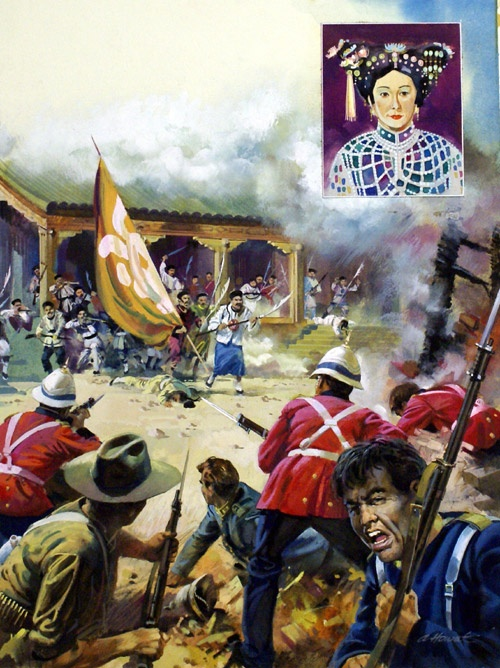 a history of the boxer rebellion in china This paper contends that the boxer rebellion both wounded and opened relations between china and the outside world.