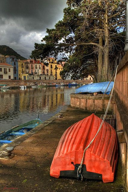 Bosa, Sardinia, Italy, province of Oristano
