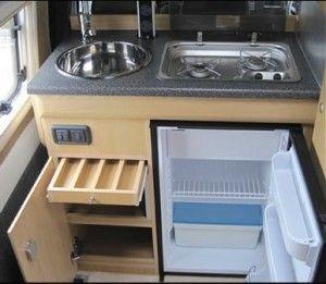 Undercounter fridge