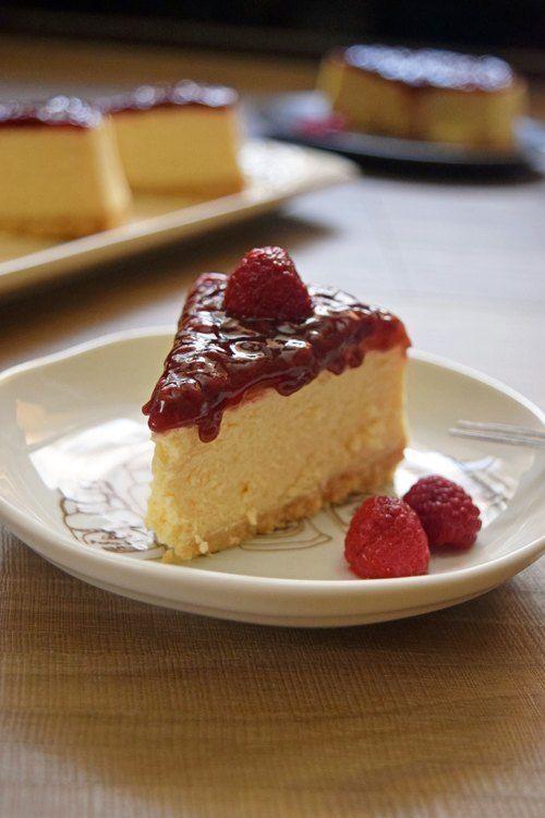 [Cheese & Chocolate.] American heavy raspberry cheesecake Junior Jam (with pulp)