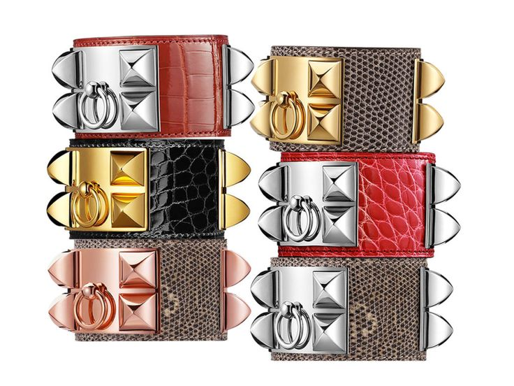 Hermès Exotics Collier De Chien Bracelets