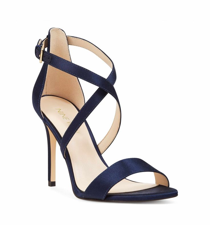 Main Image - Nine West Mydebut Cross Strap Sandal (Women) $80