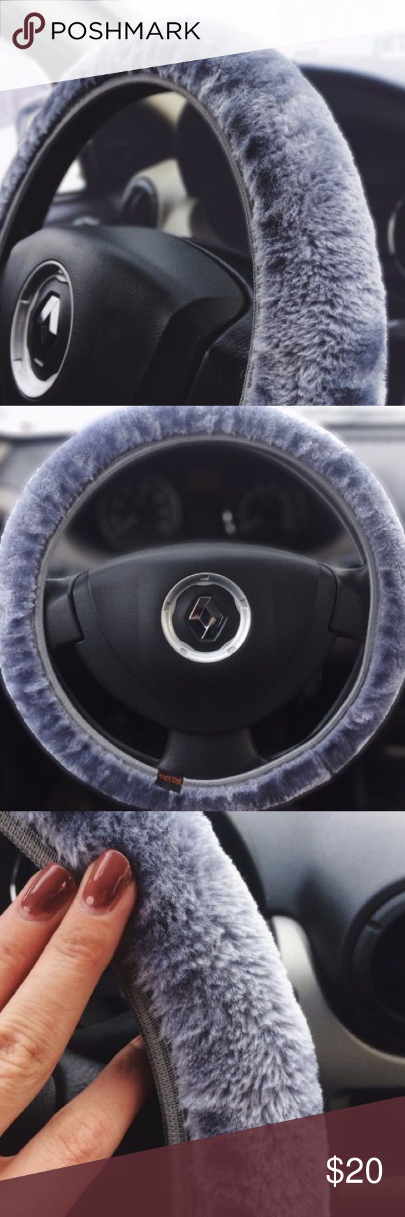 Faux Fur Steering Wheel Cover Cute new faux fur steering wheel cover , cute gift idea! Accessories