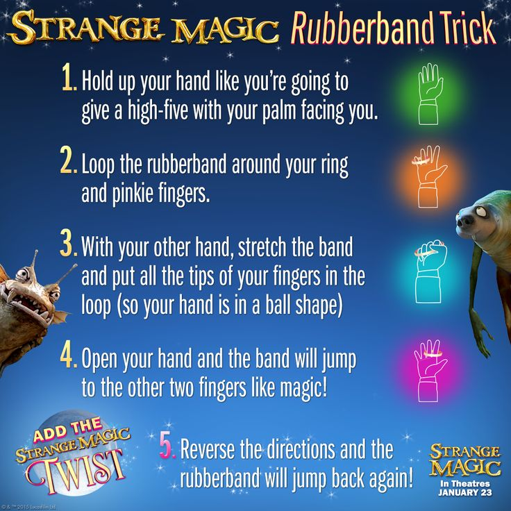 Strange Magic Rubberband trick SKGaleana