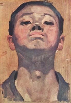 Yasui Sōtarō, Self Portrait