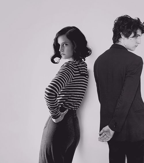 eve green & louis garrel
