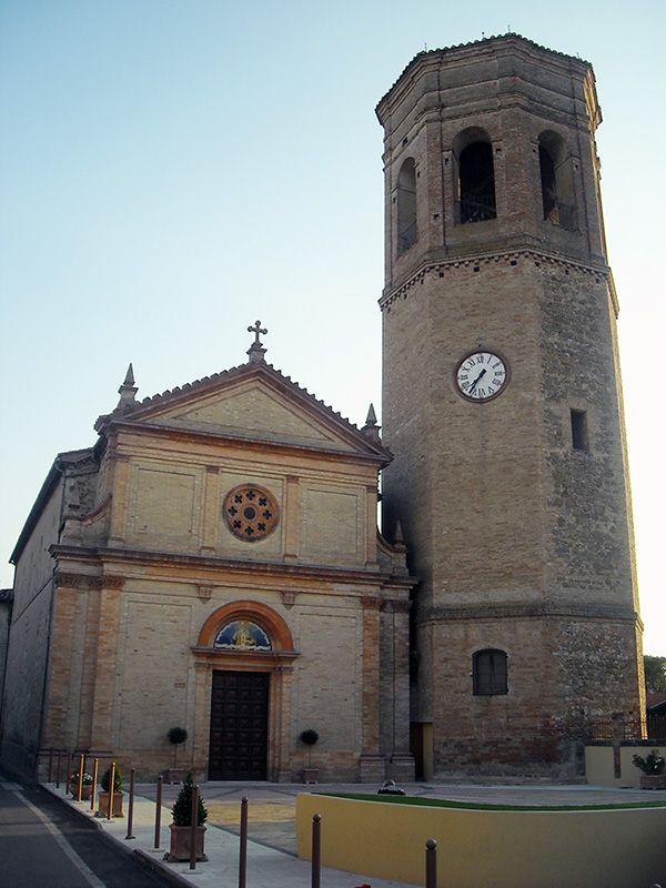Chiesa di S. Nicolò di Celle, Deruta (PG) ITALIA.