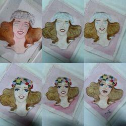 #arte #art #mulher #woman #pentel #aquarela #watercolor #tombow #fabercastell #unipin #molotow (em Cidade Universitária - Barão Geraldo.)