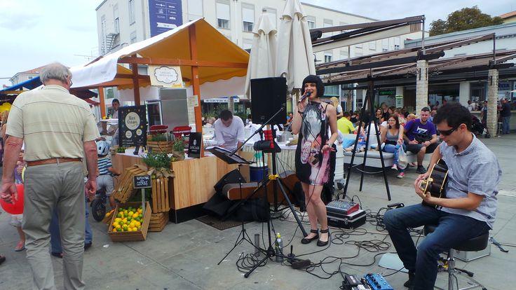 Music and sweets ... FTW! #lemontree #healthypleasures #lifeclassportoroz #prehistoricsee