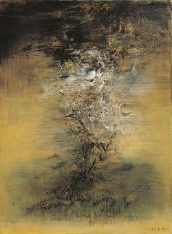 Zao Wou-Ki, Title: 23-1-60; Medium: oil on canvas; Size: 81.5 x 60.5 cm (32 x 23 in.)