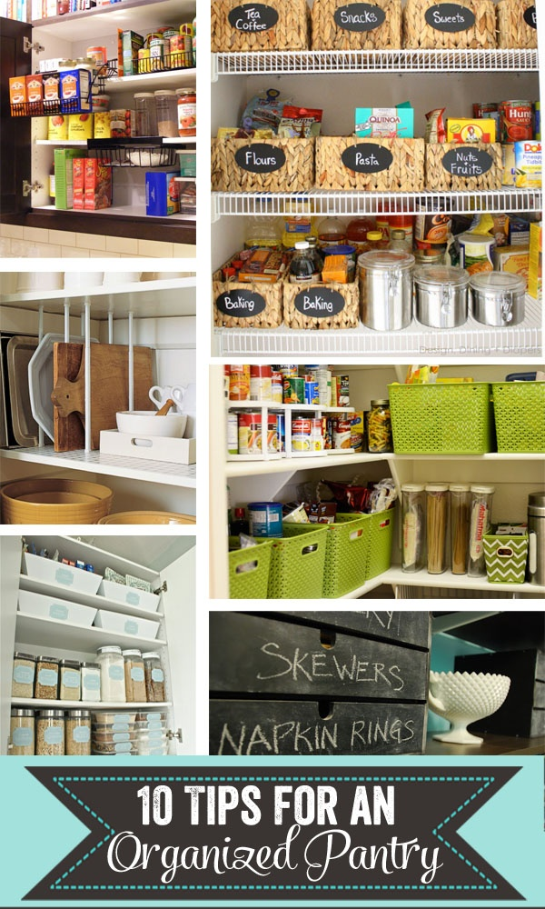 Happy Organized Life: Tips for Organizing Your Pantry