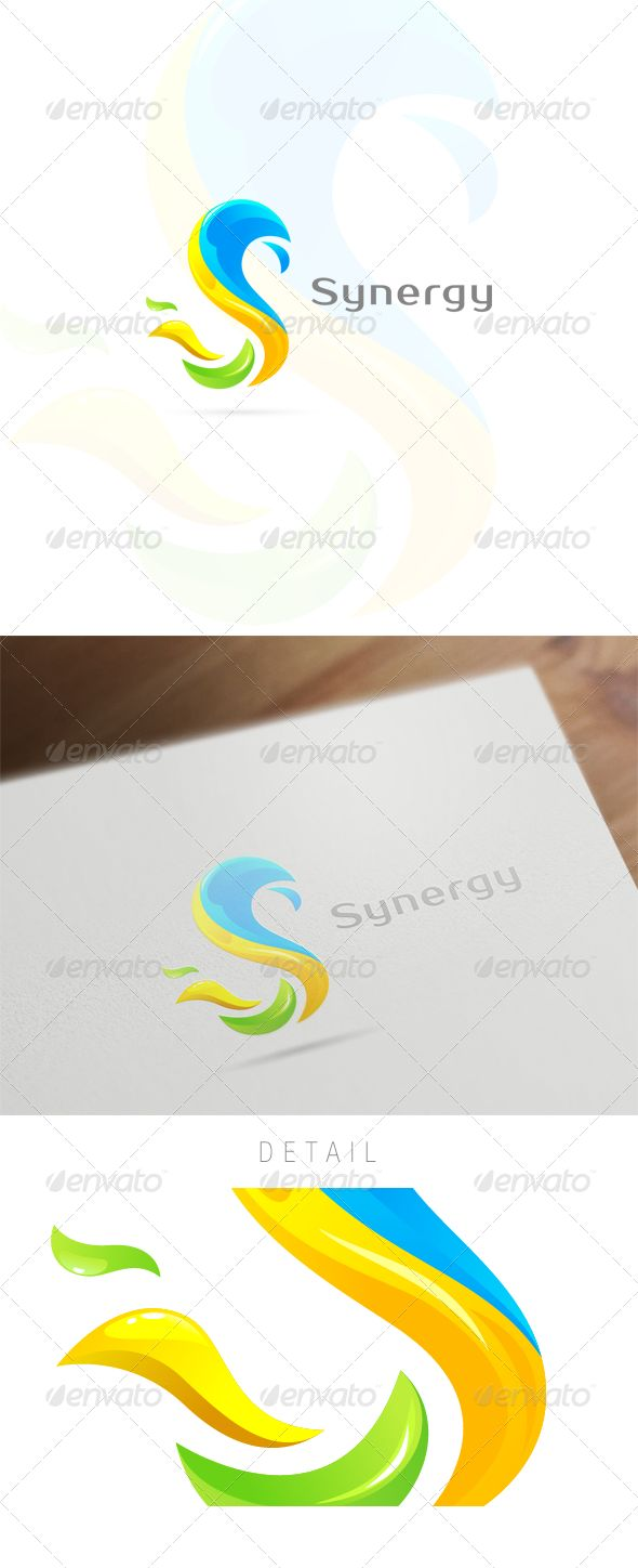 Colorful S Letter - Logo Design Template Vector #logotype Download it here: http://graphicriver.net/item/colorful-s-letter-logo-design/6134379?s_rank=956?ref=nesto