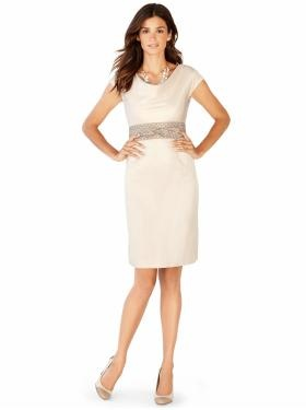 """""""Joan"""" sheath from Banana Republic Mad Men collection...possible wedding wear for this summer?"""