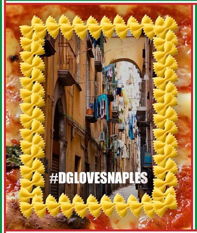 @stefanogabbana #dglovesnaples ❤️❤️❤️❤️ see you soon ❤️❤️❤️❤️#NAPOLI #sud ☀️☕️⚽️‼️