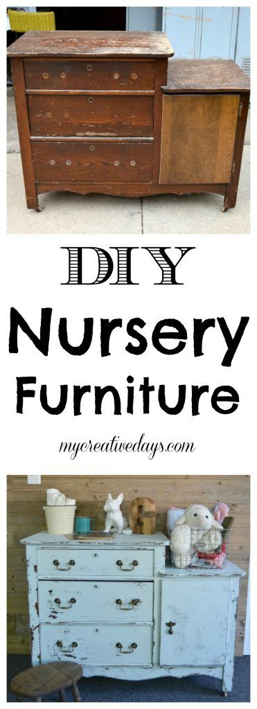 Are you designing a nursery? DIY nursery furniture is so much fun. This dresser was the perfect candidate for a nursery piece of furniture.