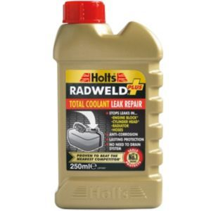 Holts Radweld Plus Radiator Repair 250 ml Holts Radweld Plus Radiator Repair 250 ml.Permanently seals leaks in Radiators Engine blocks Cylinder heads  Hoses in minutes (Barcode EAN=5010218001459) http://www.MightGet.com/april-2017-1/holts-radweld-plus-radiator-repair-250-ml.asp