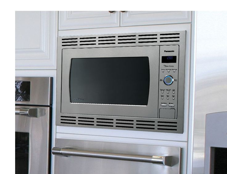 9 best images about microwave on pinterest countertop for Microwave ovens built in with trim kit