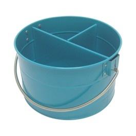 Teal metal round flatware caddy Target (10) Cutlery
