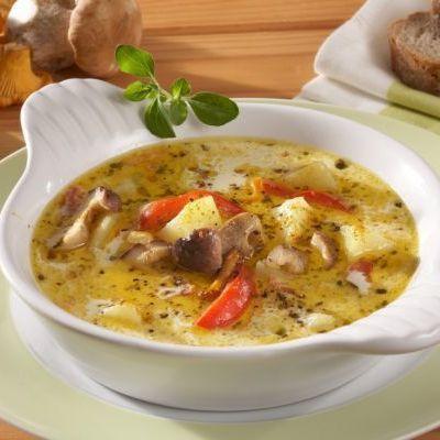 Supă de legume cu smântână