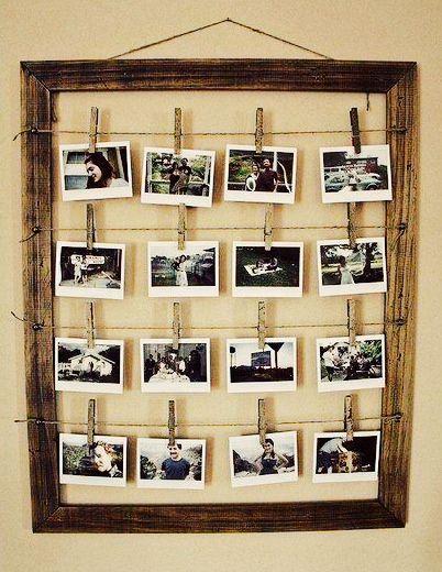 Marco con fotos :) #ideas para regalar