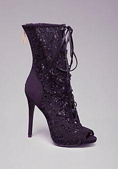 Bebe boots (Beckah+Lace+Booties)