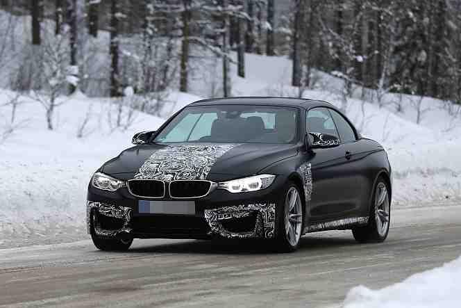 Erlkönig BMW M4 Cabrio 2014