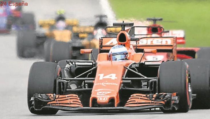 Fernando Alonso, séptimo en los primeros libres
