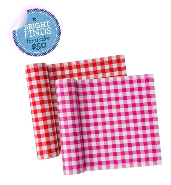 Glo's latest obsession: MYdrap Gingham Cotton Place Mats Roll of 12
