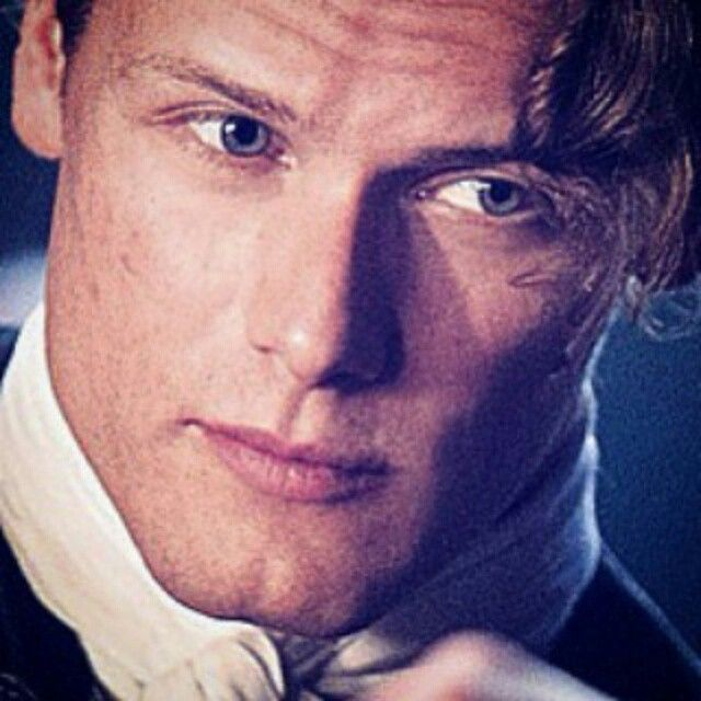 Not only is he beautiful, he's a thoughtful, courteous, very nice man.  Caitriona is a lucky woman.