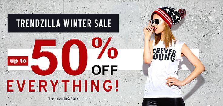 @trendzillastyle #graphictshirts #wintersale #sales #off50% http://bit.ly/1SQqeCG