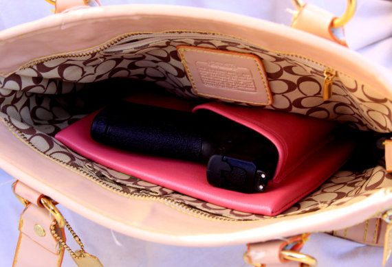 Sub Compact Auto Pink Purse Holster S&W MP by CreativeConceal
