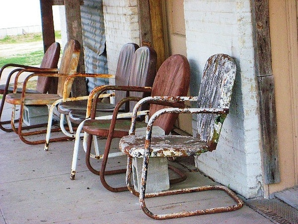 82 Best Images About Metal Lawn Furniture On Pinterest