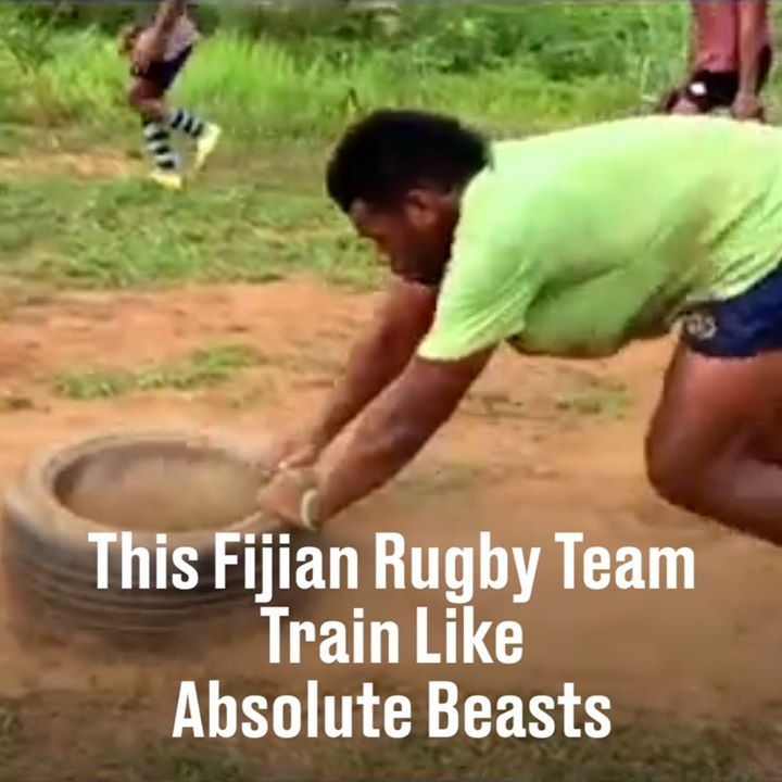 Despite no funds, this Fijian rugby team is MASSIVE