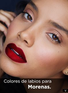 Mira los tonos de labiales que favorecen a las morenas y elige tus favoritos entre las mejores marcas de maquillaje.