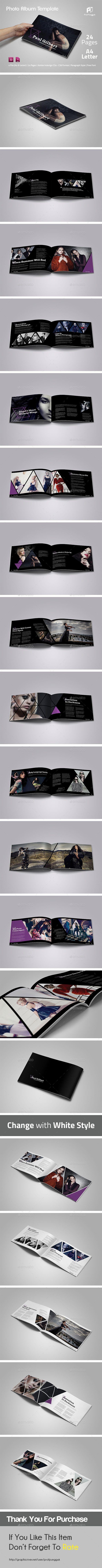 Modern Photo Album Template #design Download: http://graphicriver.net/item/modern-photo-album-vol-2/12434718?ref=ksioks