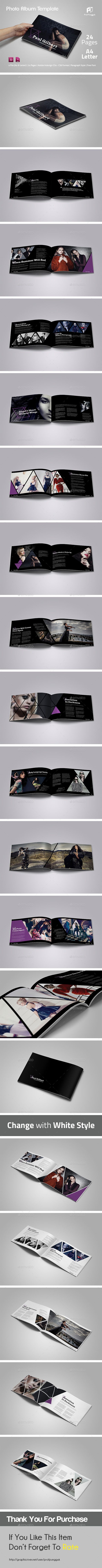 Modern Photo Album Vol.3 - Photo Albums Print Templates