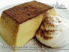 Tarta Flan de Queso, de Roski (Crucero) | Recetas Dukan Maria Martinez