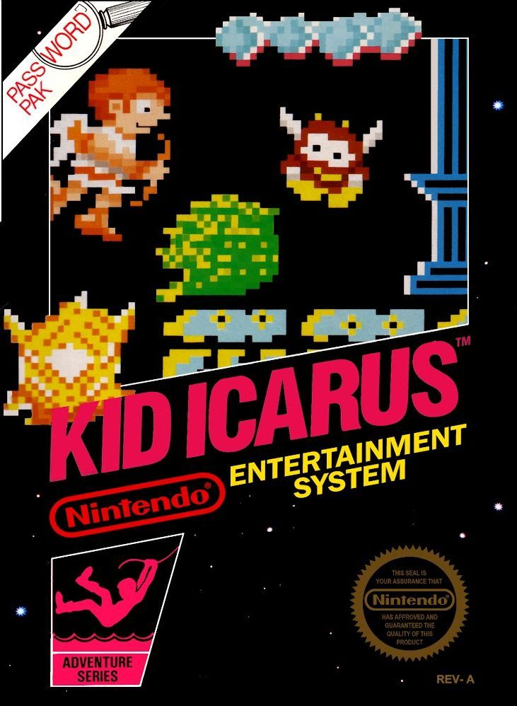 Kid Icarus for the NES I remember this game fondly. Ahh, old school.  #nes #nintendo #gaming