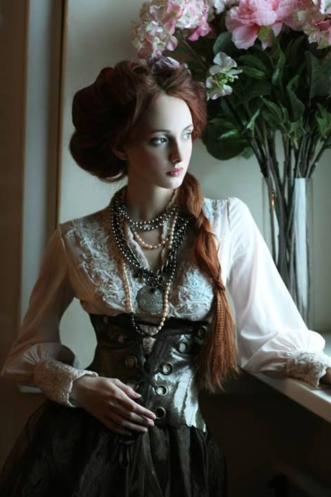 I really like this Steampunk style, it just feels so, Tim Burton <3 and we all know I really love my Tim Burton :)