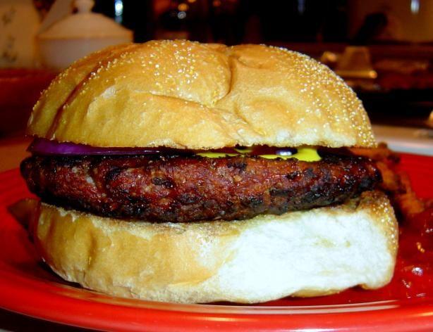 Kangaroo Burgers Recipe - Australian.Food.com - 170743